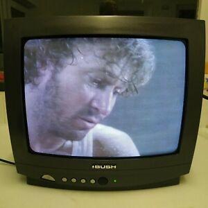 """Bush AK20S 14"""" CRT 1980s colour TV Gaming Television Vintage"""