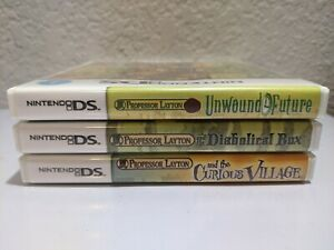 Replacement Case for Nintendo DS Professor Layton Titles