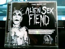 ALIEN SEX FIEND VERY BEST OF 15 HITS GOTH 1 NEAR MINT CD DEAD AND BURIED RIP