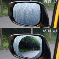 Car Waterproof Wing Mirror Film Anti Fog Rainproof Rear View Mirror Film Durable