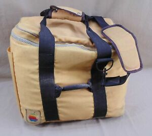 VTG APPLE MACINTOSH COMPUTER TRAVEL CARRY ON BAG/CASE TOTE W/STRAPS SOLD AS IS!
