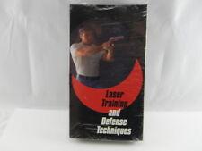 Crimson Trace Laser Training & Seld Defense Vhs Sealed in Original Package