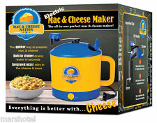 ELECTRIC MAC & CHEESE NATION MACARONI AND CHEESE COOKER MAKER DORM OFFICE HOME
