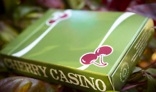 1 Deck Cherry Casino Fremont (Sahara Green) playing cards