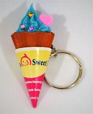Keychain Sweet Ice, Ice Cream Blueberry, Key, Car/Purse Charm, Doll, Bear Food,