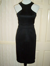 6eace7fd1bcd GIANNI VERSACE Black Bodycon Cocktail Dress Size 10 (Euro42) VGC