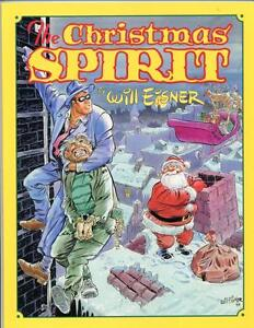 The Christmas Spirit     Will Eisner     Kitchen Sink Press     1st Print
