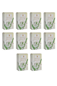 Bronnley Lily of the Valley Luxury English Soap Pack of 10 10 x 25g