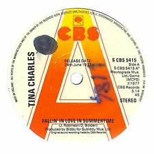 "Tina Charles - Fallin' In Love In Summertime - Promo - 7"" Record Single"