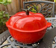 Le Creuset Cast Iron Dutch Oven Red Tomatoe 2 Qt 20