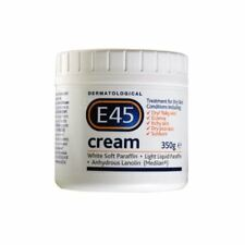 E45 Cream 350g Tub For Dry Skin Dermatological Face Body Moisturiser