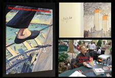 PHILIPPE PETIT SIGNED The Man Who Walked Between the Towers 1st Print w/ PHOTOS!