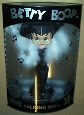 "Betty Boop -1998 12"" Talking Poseable doll by Precious Kids in box - Black Dress"