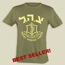IDF T-shirt-Short sleeve,Cotton,Olive Green,Graphic IMP sizes:S-5XL