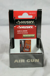 NEW Husky Add A Hook Air Gun / Hammer Holder - Universal Tool Belt Clip On