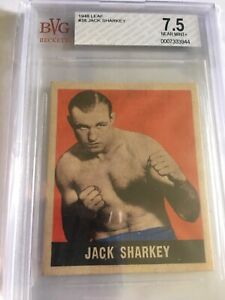 1948 Leaf Boxing Jack Sharkey #38 BVG 7.5