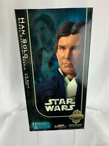 Star Wars 2006 Sideshow Exclusive Han Solo Rebel Captain Bespin Figure #2107 NEW