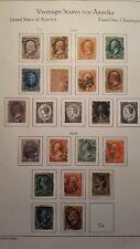 USA 1870-1882-1887  MINR BETWEEN 36-57 CAT.V. 300 EURO
