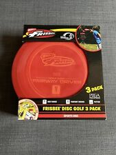 New Wham-o Frisbee DiscGolf 3-Pack Mid Range, Fairway Driver, Putter | Free Ship