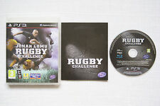 Jonah Lomu Rugby Challenge  PS3 Game -1st Class FREE UK POSTAGE