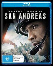 San Andreas (Blu-ray, 2017) + Digital UV - VGC