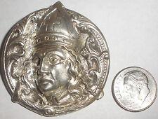 Antique Norwegian Norway Henrik Moller Trondhjem Silver 830 Dragestil brooch