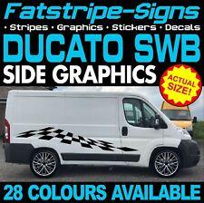 FIAT DUCATO L1 + SWB grafica Adesivi Decalcomanie Strisce Giorno Van Camper Camper