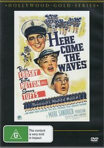 Here Come the Waves - Bing Crosby New and Sealed DVD