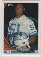 1994 Topps Detroit Lions football team set