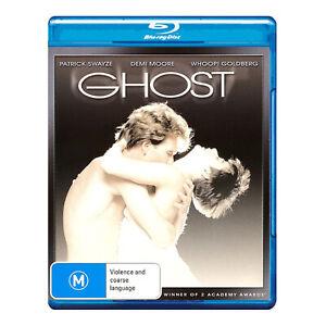Ghost Blu-Ray Brand New Region B - Patrick Swayze, Demi Moore - Free Post