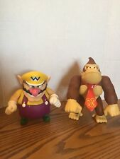 Donkey Kong Monkey & Wario Nintendo Super Mario Bros.Action Figure Toy 2009