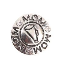 3DCrystal Chunk Charm Snap Button Fit For Noosa Necklace/Bracelet NSKZ137
