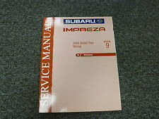 2004 Subaru Impreza Section 9 Wiring System Shop Service Repair Manual Book