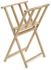 Wooden Folding Art Print Rack Storage Display Stand 77.5 x 39 x 56 cm