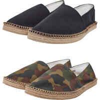 Urban Classics Herren Espadrilles Schuhe Canvas Slipper