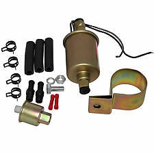 NEW E8016S E8012S 12V Universal Low Pressure Electric Fuel Pump Kit USA SHIPS