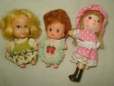 Vtg Barbie LIDDLE KIDDLE Doll Lot HOLLY HOBBY x3 3""