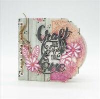 Stanzschablone Album Blume Liane Blatt Weihnachten Hochzeit Geburtstag Karte DIY