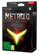 Metroid Samus Returns Legacy Edition STEELBOOK KEYRING MORPH BALL ARTBOOK NEW