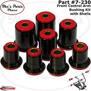 Prothane 7-230 Front Control Arm Bushing Kit with Shells for 91-04 Buick/Chevy
