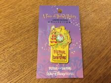 DISNEY WDW PIECE OF HISTORY PIN FESTIVAL OF THE LION KING ON ORIGINAL CARD