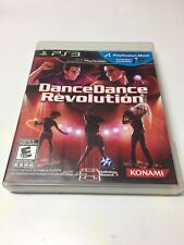 Dance Dance Revolution PS3 (Sony PlayStation 3) With Manual Excellent Shape