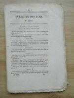 Legge Sur Les Brevetti Consumo Energetico 47 Pagine Stampa Royal 25 Aprile 1844