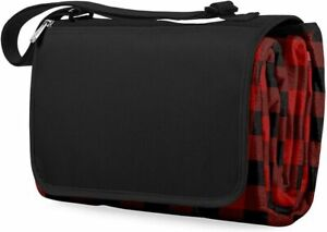 Picnic Time - XL Outdoor Picnic Blanket Tote, Buffalo Plaid (920-00-406)