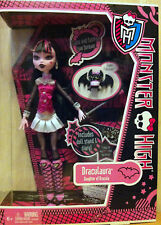 Monster High Draculaura Doll with Diary Pet Bat and Umbrella