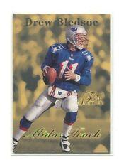 1997 Flair Showcase Midas Touch #6 Drew Bledsoe New England Patriots