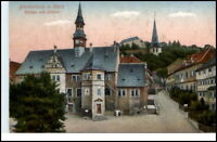 BLANKENBURG Harz ~1910/20 color Strassenansicht Schloss
