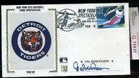 Hal Newhouser Signed Jsa Certed Fdc Autograph Authentic
