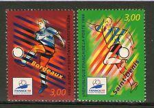 TIMBRES 3130-3131 NEUF XX LUXE - FOOTBALL - JOUEURS - BORDEAUX ET SAINT-DENIS