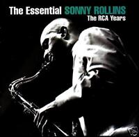 SONNY ROLLINS (2 CD) THE ESSENTIAL CD ~ 60's JAZZ / SAX ~ GREATEST HITS *NEW*